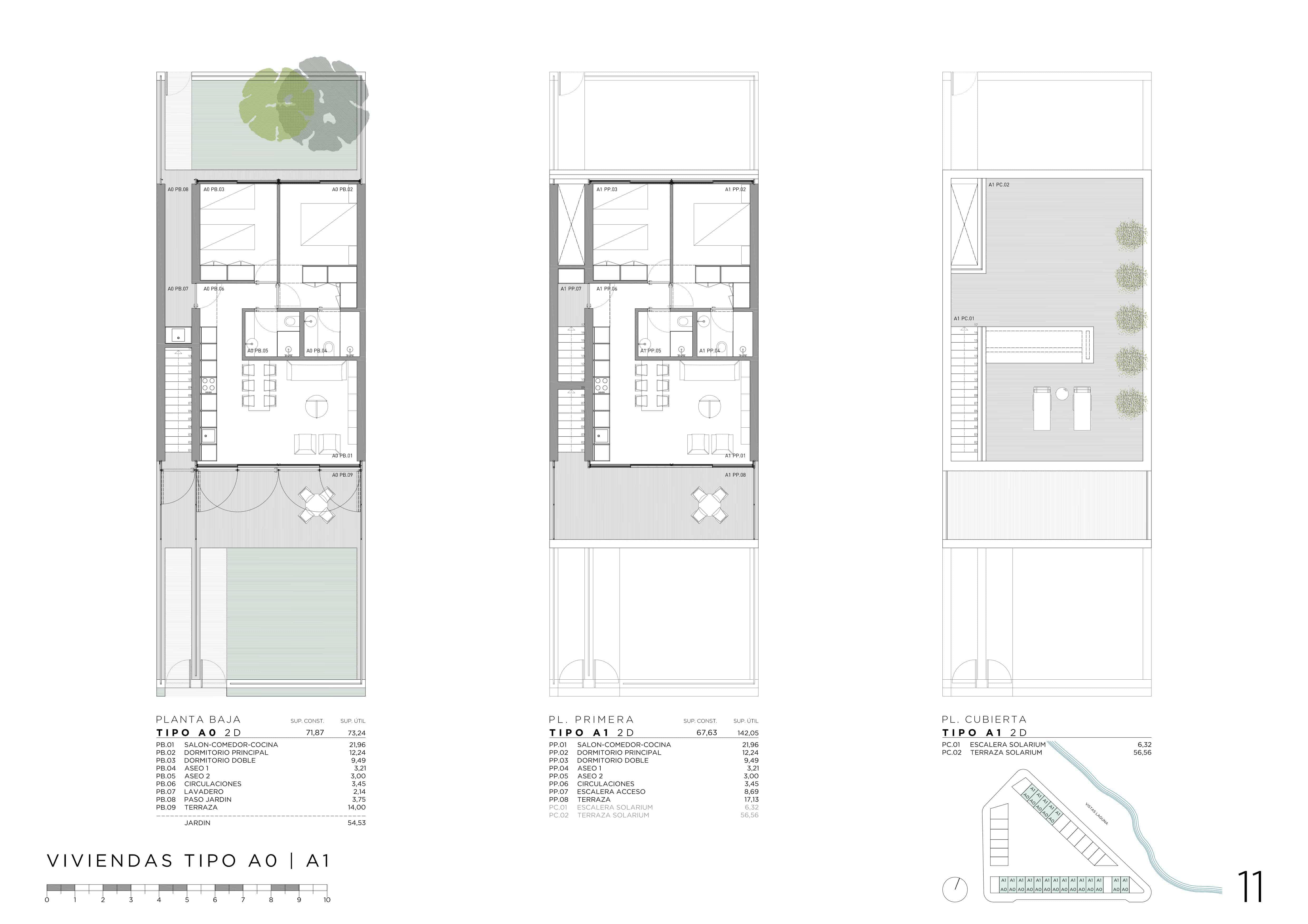 Floor plan Bungalow 11
