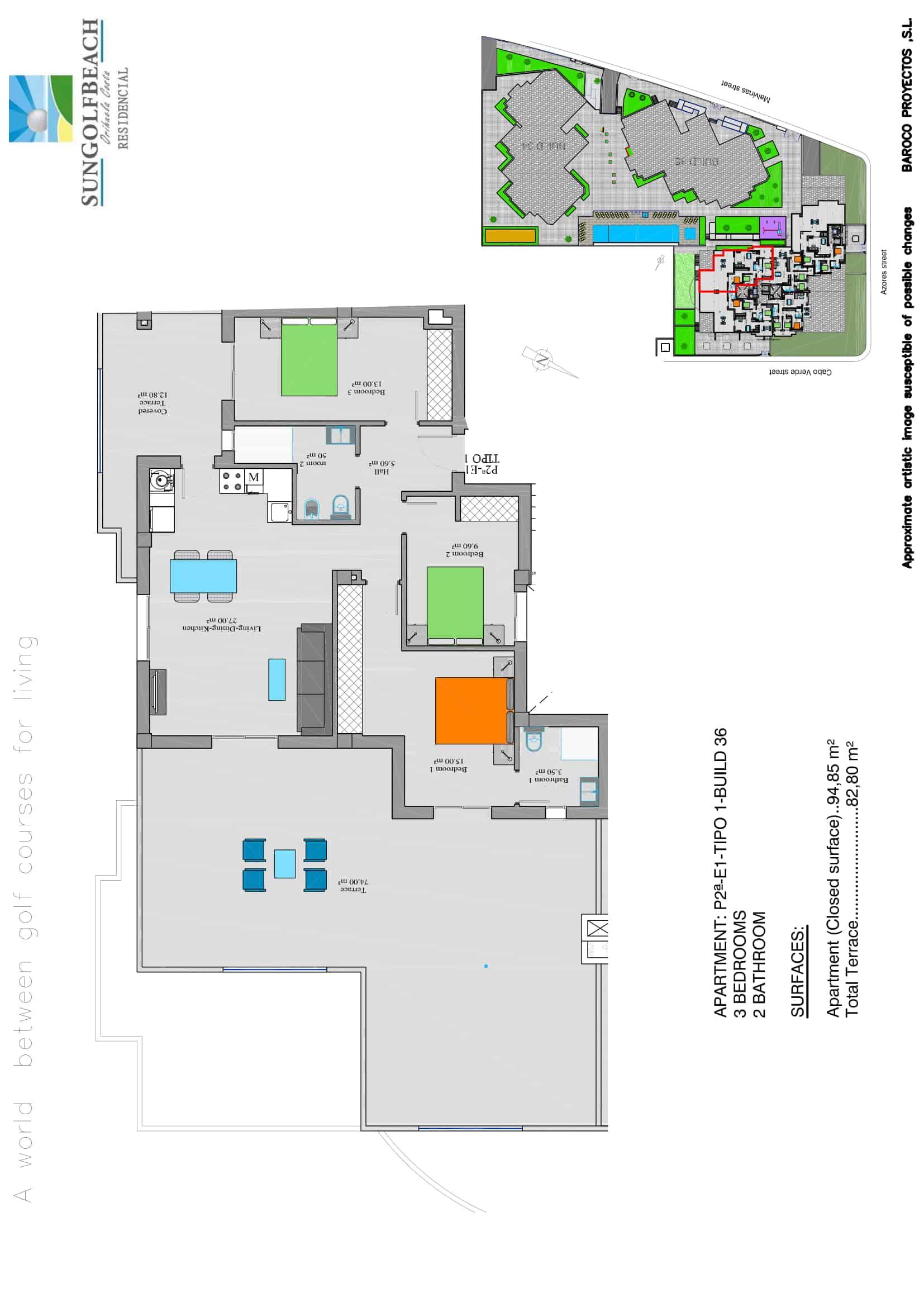 Example second floor